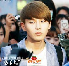 BLUE EYED K-POP IDOLS: #247  Kim Ryeowook - Super Junior