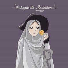 Sad Anime Girl, Anime Art Girl, Hijab Drawing, Islamic Cartoon, Hijab Cartoon, Islamic Wallpaper, Coran, Muslim Girls, Islamic Art
