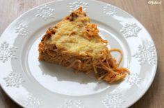 Recept spaghetti taart - Mamaliefde.nl