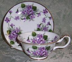 Romântica!!! Charme das violetas.