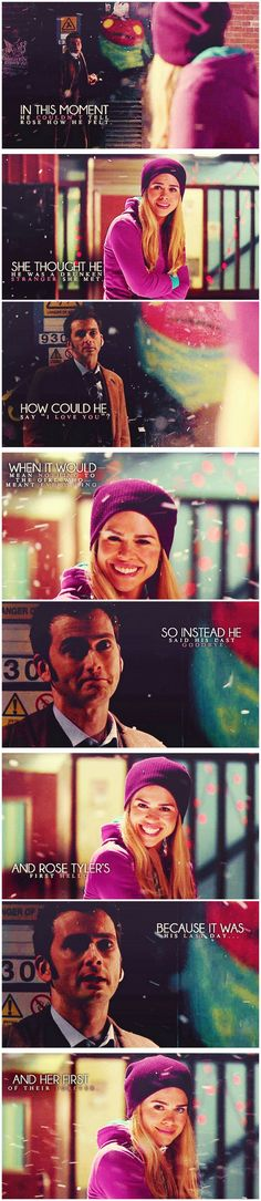 #RoseAndTen - Her first hello and his last goodbye ... right in  the feels </3 </3
