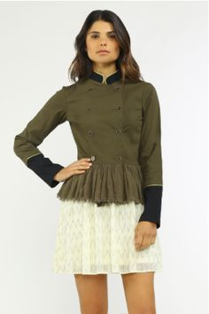 Janet Military Jacket