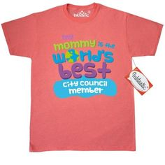 Inktastic City Council Member Gifts For Kids T-Shirt Auditing Clothing Apparel Clothes Occupation Job Cute Mens Adult Tees T-shirts Hws, Size: Small, Grey