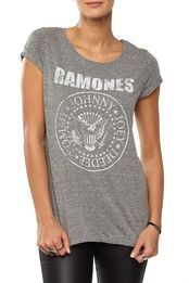 LC Ramones Distressed Roll Sleeve Ramones, How To Roll Sleeves, Summer Outfits, Summer Clothes, T Shirts For Women, Mens Tops, Cotton, Stuff To Buy, Shopping