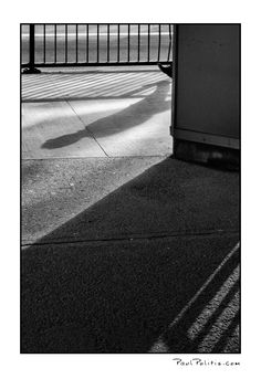Nowhere Man #4 - Black and white photograph by Paul Politis
