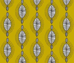 inspiration africa fabric by molipop