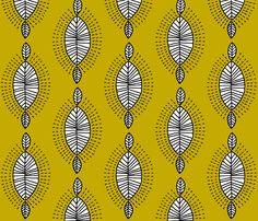 inspiration africa fabric by molipop