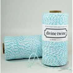 Divine Eco-Friendly Bakers Twine (11 Colors Available) NEW!