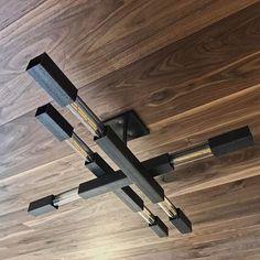 Modern Chandeliers Minimal & Industrial Lighting by Daikonic