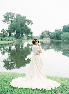 So dreamy! Dress: Houghton NYC (tee & full ballgown skirt)