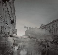 Alexey Titarenko, Untitled, from Black & White Magic of St. Petersburg series, 1995–1997. Photograph.
