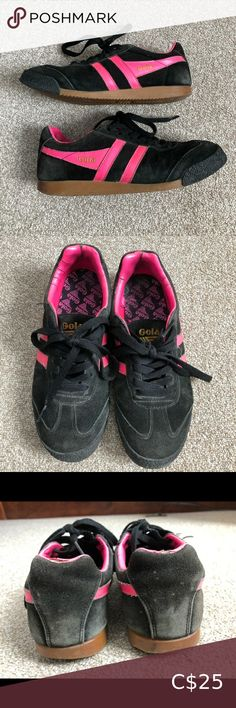 I just added this listing on Poshmark: Women's GOLA Harrier retro black pink sneakers - Too Faced Bronzer, Pink Sneakers, Casual Wear, Athletic Shoes, Germany, Brand New, Retro, Stylish, Leather