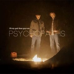 I love how they warm they're hands. It's so hilarious. And amazing. This really felt like old SPN, and I'm loving it.