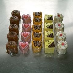 Lovely little selection of petit fours