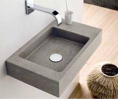 concrete washbasin
