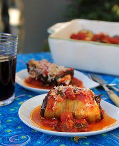Mediterranean Eggplant Rolls
