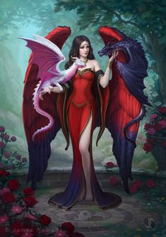 Dragon Mistress by namesjames on @DeviantArt