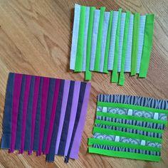A Quilter's Table: Improv Stripes Quilt-Along! Scrappy Quilts, Easy Quilts, Mini Quilts, Star Quilts, Patchwork Quilting, Scrap Quilt Patterns, Canvas Patterns, Quilting Ideas, Crumb Quilt