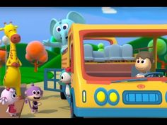 Let's take a ride on the bus with our zoo friends Learn, sing and dance with Kids Songs & Nursery Rhymes The Wheels O. Bus Songs For Kids, Wheels On The Bus, Nursery Rhymes, Music Songs, Singing, Doodles, Make It Yourself, Artist, Youtube