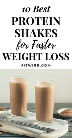 Weight Loss Meals, Weight Loss Drinks, Weight Loss Smoothies, Healthy Weight Loss, Protein Smoothies, Weight Loss Protein Shakes, Best Protein Shakes, Protein Shake Recipes, Shakes For Weight Loss