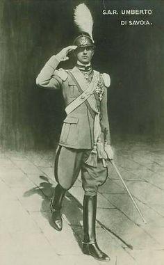 Kronprinz Umberto von Italien, Crown Prince of Italy #TuscanyAgriturismoGiratola