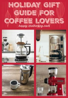 KitchenAid Holiday Gift Guide for Coffee Lovers