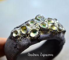 Andrea Zajacova / Polymer Clay Bracelet Polymer Clay Bracelet, Rings For Men, Bracelets, Charm Bracelets, Men Rings, Bracelet, Bangle