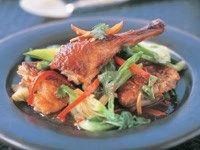 Tamarind duck stir-fry