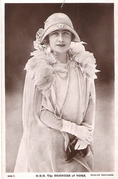 HRH the Duchess of York (later Queen Elizabeth The Queen Mother)