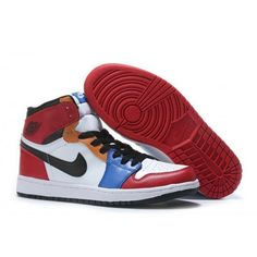 c48ae4841f1 Cheap Mens Air Jordan 1 Black White Blue Green Red Limited Edition   NikeAirJordan