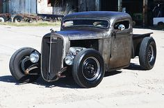 1935 36 37 Chevy Hot Rod Pickup Truck Traditional Chopped Rat 348 409 photo 1 ...