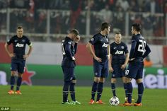United's first-half performance was ordinary in the heated atmosphere of the Karaiskakis Stadium