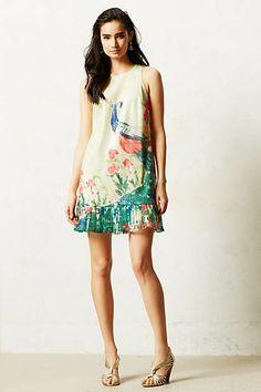 Shimmered Plume Dress