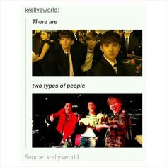 You wouldn't believe who the older ones are... | Super Junior & EXO