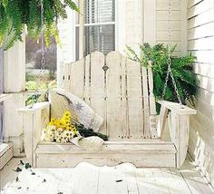 """Another swing for my front porch """"wish list"""""""