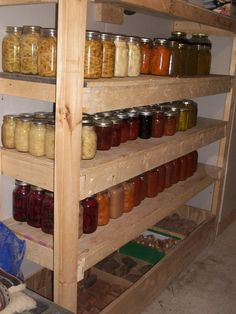 Canning shelves thread on DS... Someday!