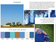 Color fashion forecast Spring Summer 2014 SERENE  trend- Previsione colori Primavera Estate 2014 tendenza SERENO