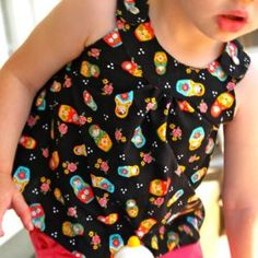(D)!Snappy Toddler Top & Free Downloadable Patterning
