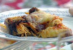 Involtine di Melanzane con Capelli d'Angelo from FoodNetwork.com