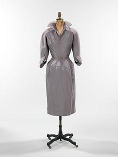 Dress Charles James (American, born Great Britain, 1906–1978) Date: 1952 Culture: American Medium: silk