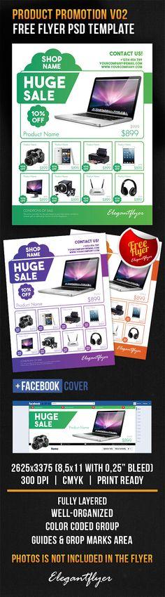 Product Promotion Design V02 – Free Flyer PSD Template + Facebook Cover https://www.elegantflyer.com/free-flyers/product-promotion-design-v02-free-flyer-psd-template-facebook-cover/