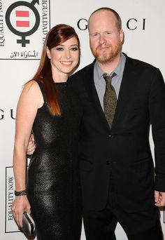 Pin for Later: 30 Celebrity Godparents You Had No Idea About  Former Buffy the Vampire Slayer star Alyson Hannigan and her husband, Alexis Denisof, are godparents to the show creator Joss Whedon's son Arden.