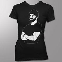 wote beard guy ladies tee (19.99)