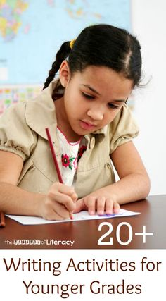 For young students, writing can be tedious and difficult. Here are over 20 clever writing activities for primary grades to get children excited about writing tasks.