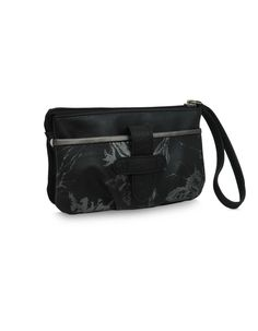 MP Soar Lisa Black : A spacious black multi pocket pouch by Baggit.