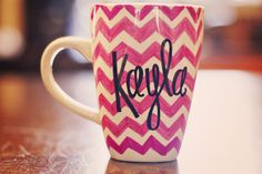 chevron coffee mug - Google Search