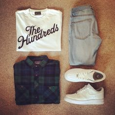 Outfit grid - The Hundreds T-shirt