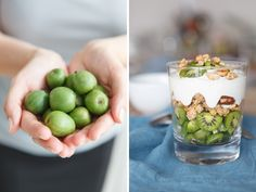 Huch, was sind denn das für Früchte? Vor ein paar Tagen überraschte uns ein Paket mit Kiwi-Beeren. Was das ist und wie sie schmecken? Lest ihr hier… http://www.fuersie.de/kitchen-girls/produkt-tests/blog-post/mini-kiwis
