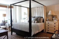 Mary Ann Pickett's (Classic Casual Design) San Francisco apartment master bedroom