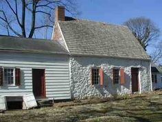 Urban Tradition. Billiou-Stillwell-Perine House. Dongan Hills, NY. ca 1663 with later additions.